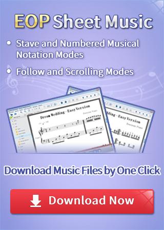 piano free sheet music