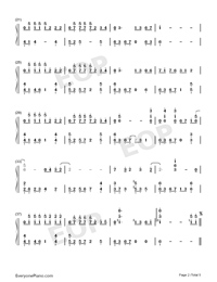 The truth that you leave-Numbered-Musical-Notation-Preview-2
