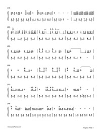 You Exist in My Song-Numbered-Musical-Notation-Preview-2