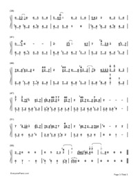 You Exist in My Song-Numbered-Musical-Notation-Preview-3