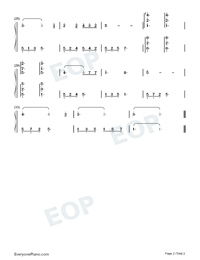 On Wings of Song-Auf Flügeln des Gesanges-Numbered-Musical-Notation-Preview-2