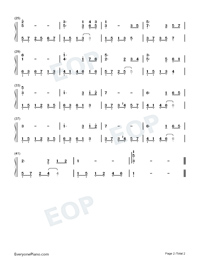 The First Snowflakes-Numbered-Musical-Notation-Preview-2