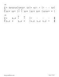 Fairy Tale-Michael Wong-Numbered-Musical-Notation-Preview-2
