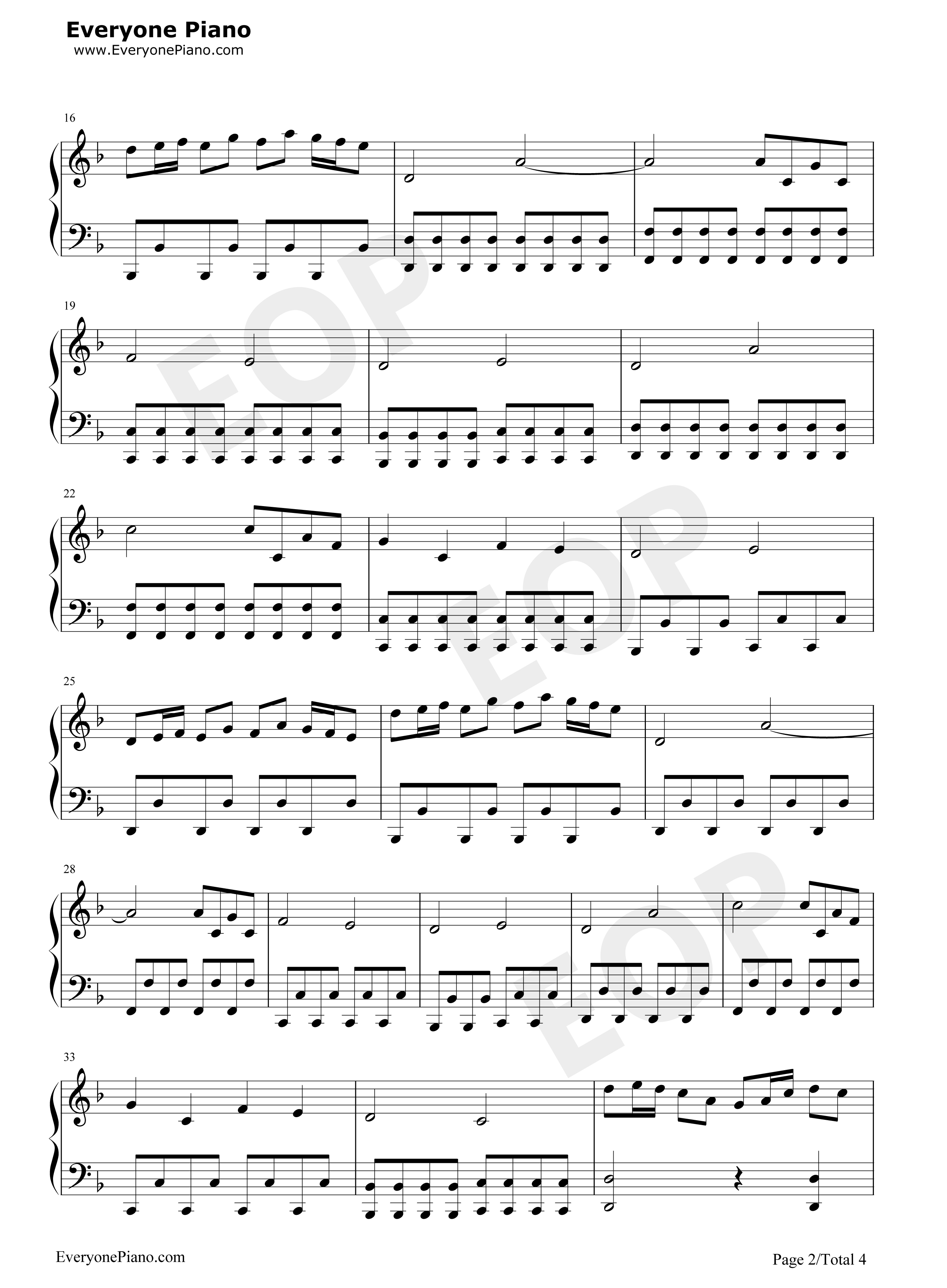 Piano notes for fairy tail main theme mp3