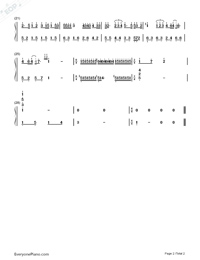 Dar len Numbered Musical Notation Preview 2