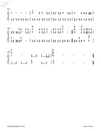 The Spring Of The Northland-Teresa Teng-Numbered-Musical-Notation-Preview-2