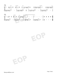 Right Here Waiting-Numbered-Musical-Notation-Preview-2