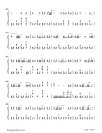 Yuki No Hana-Numbered-Musical-Notation-Preview-4