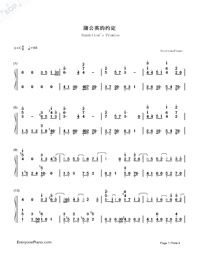 Dandelion's Promise-Numbered-Musical-Notation-Preview-1