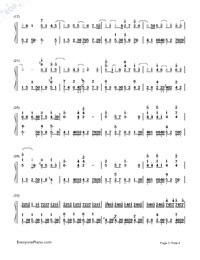 Dandelion's Promise-Numbered-Musical-Notation-Preview-2