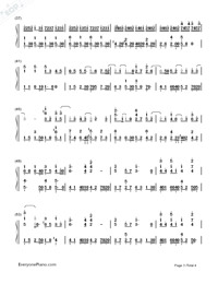 Dandelion's Promise-Numbered-Musical-Notation-Preview-3