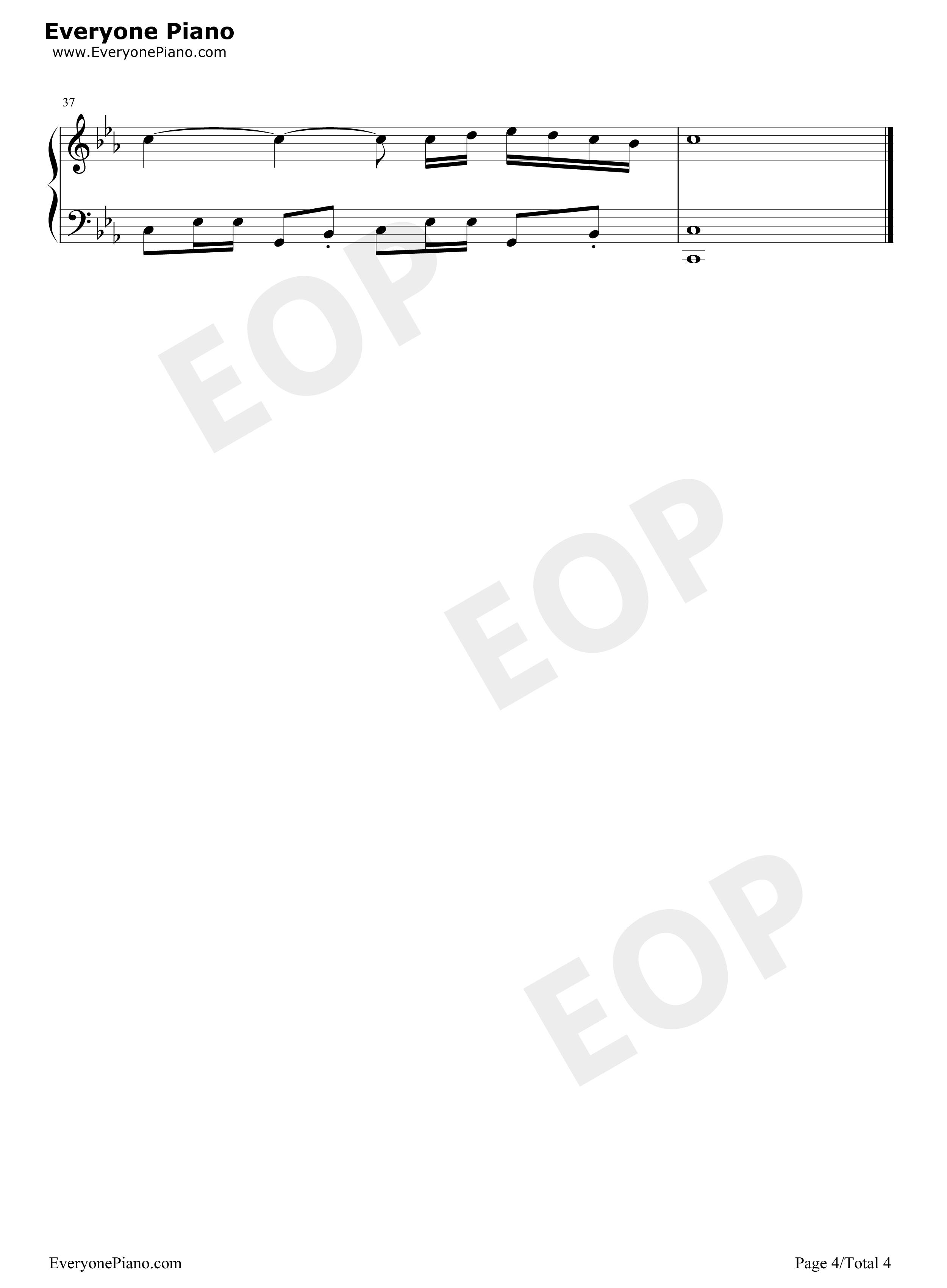 Trouble is a friend Free Piano Sheet Music & Piano Chords