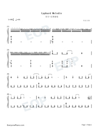 Lyphard Melodie-Numbered-Musical-Notation-Preview-1
