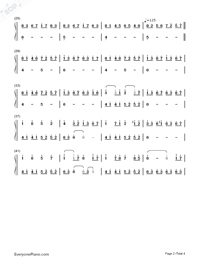 Lost Warmth-Numbered-Musical-Notation-Preview-2