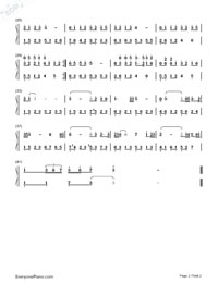 East Wind-Numbered-Musical-Notation-Preview-2