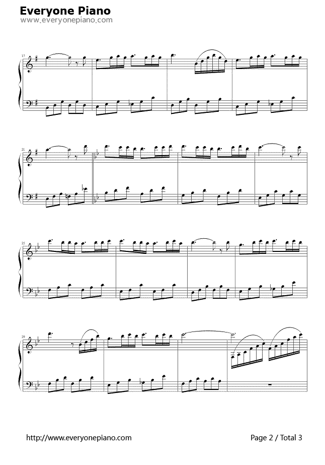 Beautiful Waltz Stave Preview 2