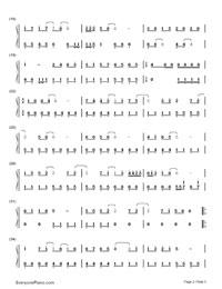 怖くない、怖くない-郭美美-EOP魔鬼訓練営練習曲両手略譜プレビュー2