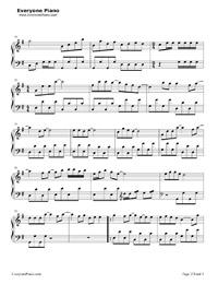 怖くない、怖くない-郭美美-EOP魔鬼訓練営練習曲五線譜プレビュー2