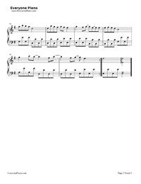 怖くない、怖くない-郭美美-EOP魔鬼訓練営練習曲五線譜プレビュー3