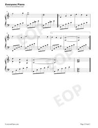 優しい人にいい夢を-孫悦-EOP魔鬼訓練営練習曲五線譜プレビュー2