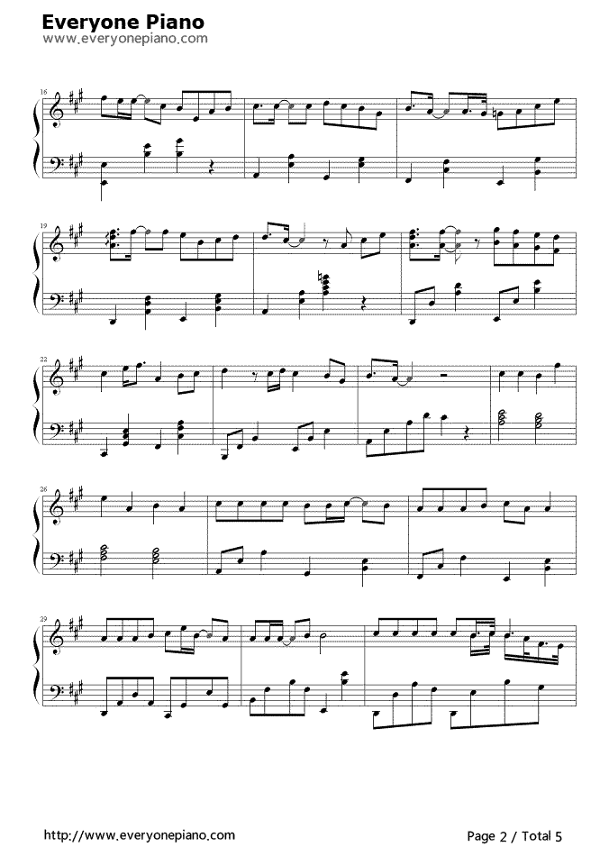 Still Loving You Stave Preview 2 Free Piano Sheet Music Piano Chords