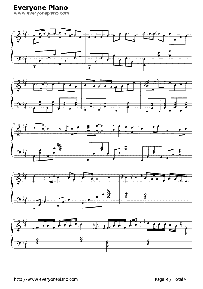 Still Loving You Stave Preview 3 Free Piano Sheet Music Piano Chords
