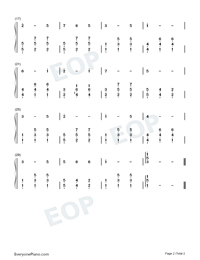 Edelweiss-The Sound of Music OST-Numbered-Musical-Notation-Preview-2