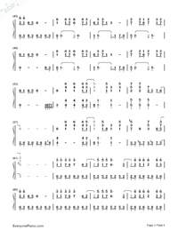 Fatal Fury-Numbered-Musical-Notation-Preview-3