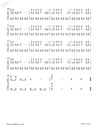 Fatal Fury-Numbered-Musical-Notation-Preview-4
