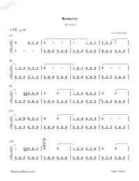 Murmures-Numbered-Musical-Notation-Preview-1