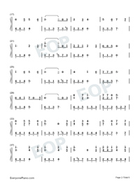 Intimate Lovers-Numbered-Musical-Notation-Preview-2