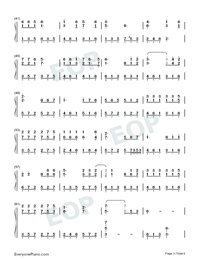 Intimate Lovers-Numbered-Musical-Notation-Preview-3