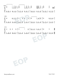 Intimate Lovers-Numbered-Musical-Notation-Preview-6