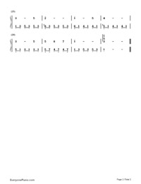 Edelweiss-Numbered-Musical-Notation-Preview-2