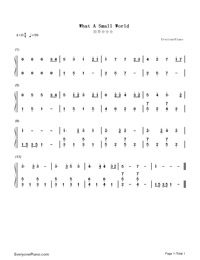 What A Small World-Numbered-Musical-Notation-Preview-1