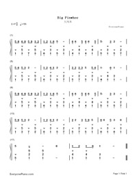 Big Pinwhee-Numbered-Musical-Notation-Preview-1