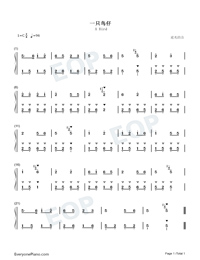 A Bird-Numbered-Musical-Notation-Preview-1