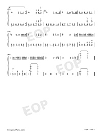 For Elise-Für Elise-simplified Version-Numbered-Musical-Notation-Preview-2