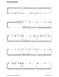 Liebesträume (Dreams of Love)-Numbered-Musical-Notation-Preview-2