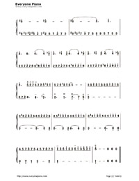 Liebesträume (Dreams of Love)-Numbered-Musical-Notation-Preview-3