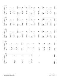 Spring Song-Frühlingslied-Numbered-Musical-Notation-Preview-2