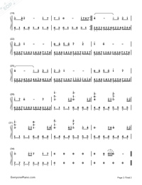 The Dawn-Warcraft III BGM-Numbered-Musical-Notation-Preview-2