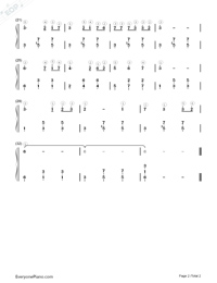 Birch Forest Numbered Musical Notation Preview 2