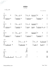 Lullaby-Numbered-Musical-Notation-Preview-1