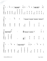Maiden's Prayer-Baranowska-Numbered-Musical-Notation-Preview-2