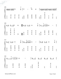 Maiden's Prayer-Baranowska-Numbered-Musical-Notation-Preview-3