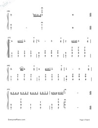 Maiden's Prayer-Baranowska-Numbered-Musical-Notation-Preview-4
