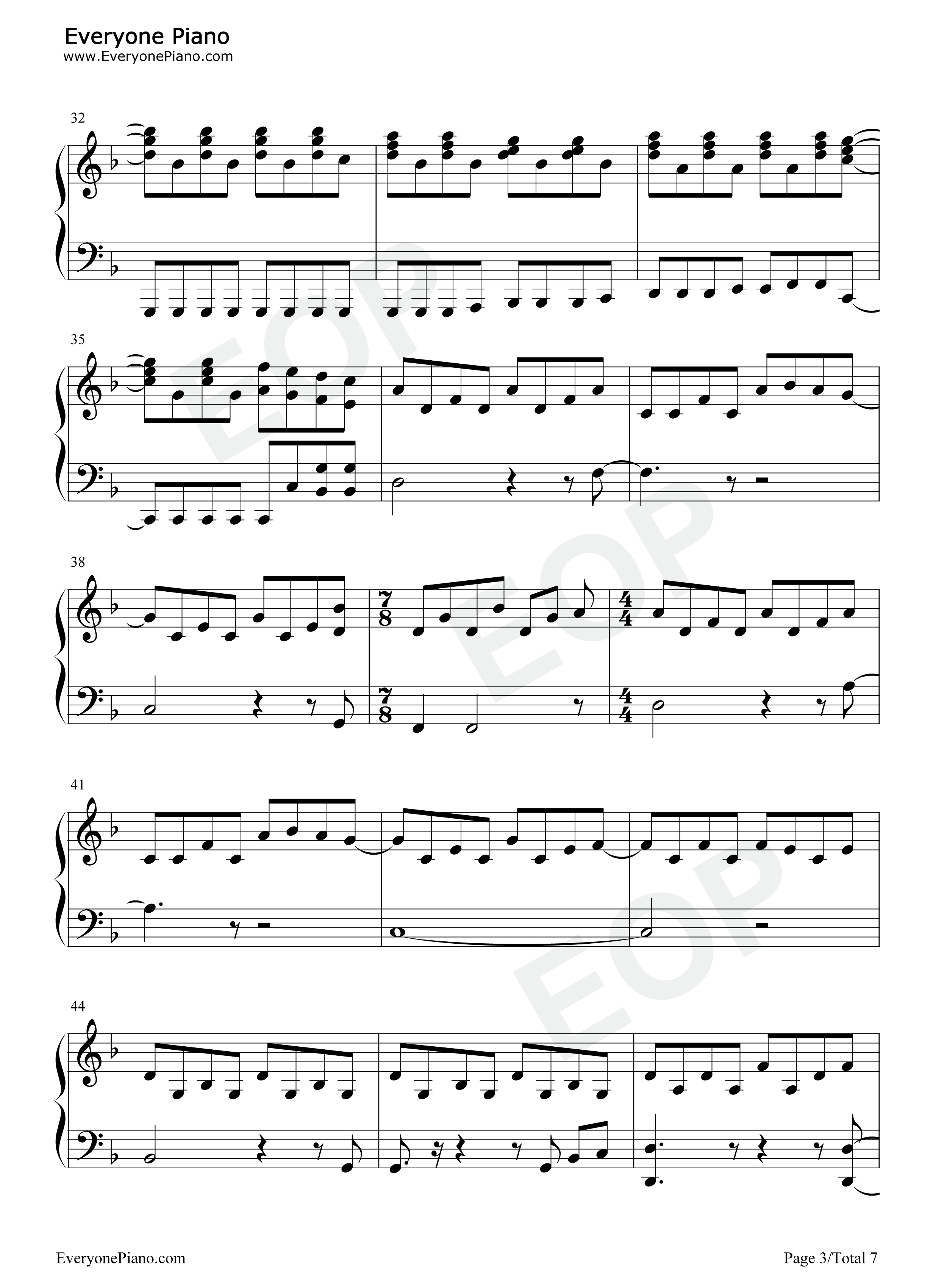 Set fire to the rain adele stave preview 3 free piano sheet music listen now print sheet set fire to the rain adele stave preview 3 hexwebz Choice Image