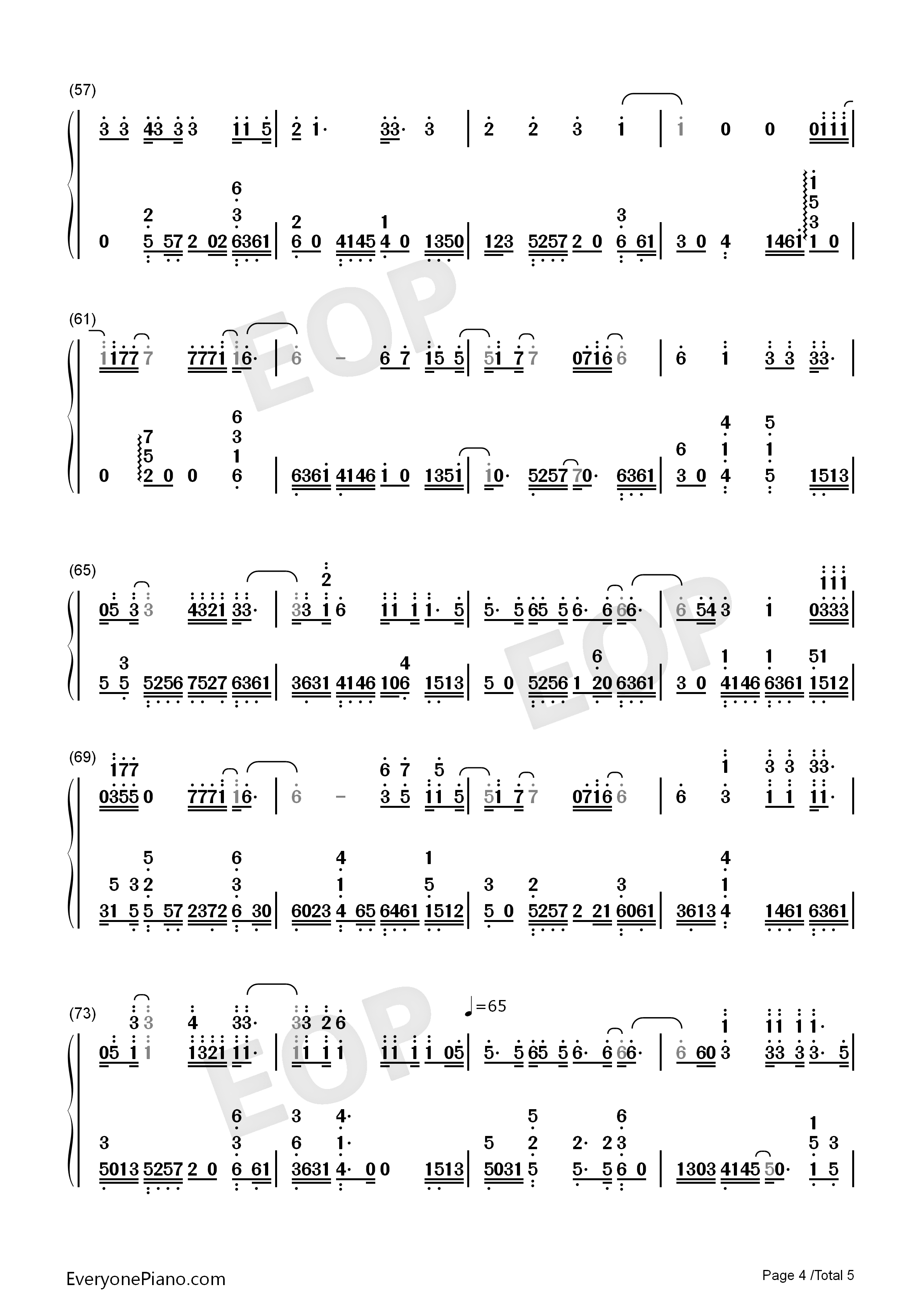 Someone like you adele numbered musical notation preview 4 free listen now print sheet someone like you adele numbered musical notation preview 4 hexwebz Image collections