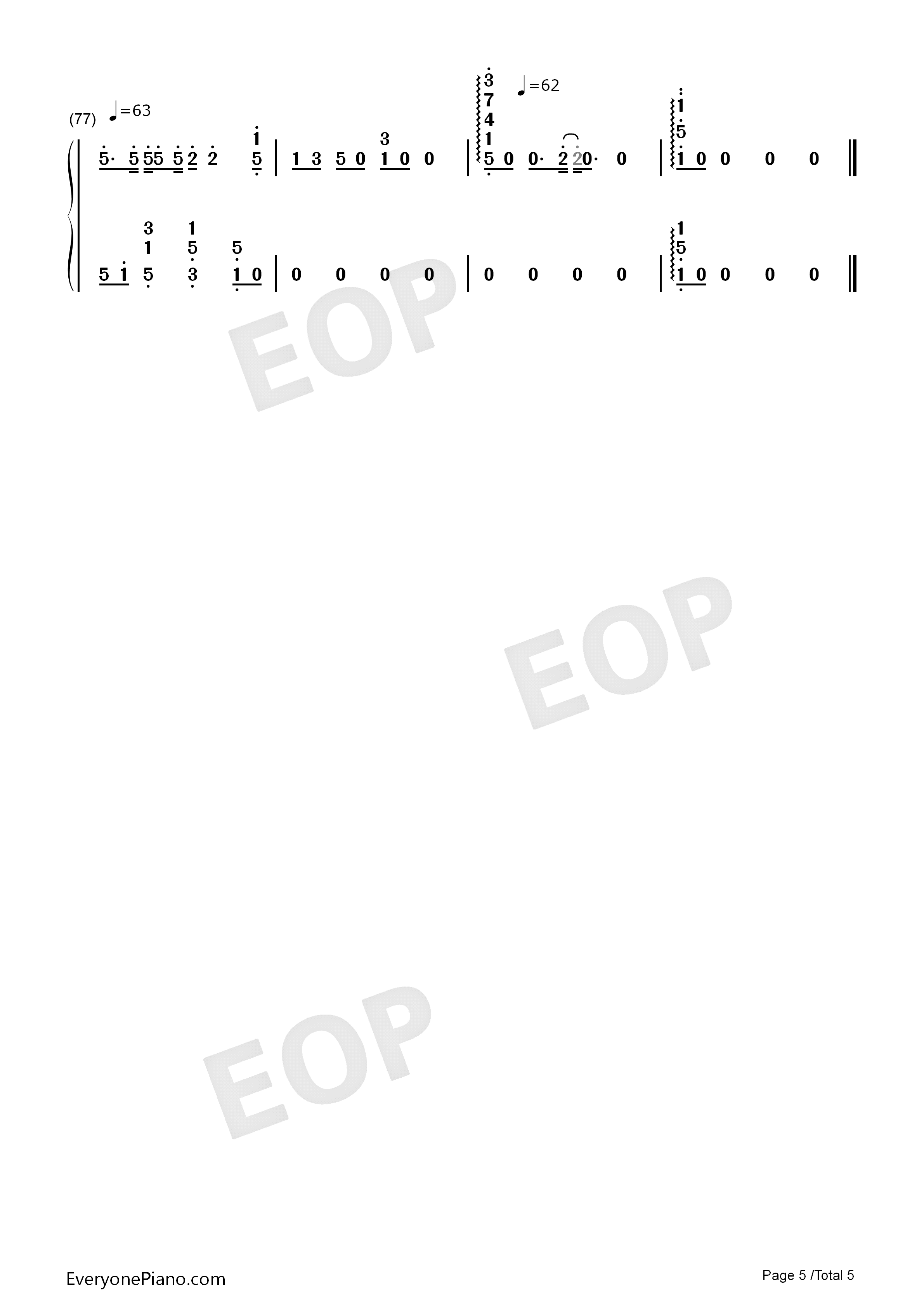 Someone like you adele numbered musical notation preview 5 free listen now print sheet someone like you adele numbered musical notation preview 5 hexwebz Gallery
